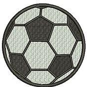 Дизайн и реклама ручной работы. Ярмарка Мастеров - ручная работа мяч дизайн машинной вышивки. Handmade.