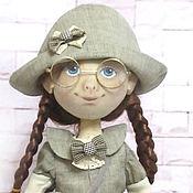 Куклы и игрушки ручной работы. Ярмарка Мастеров - ручная работа Путешественница Клара. Handmade.