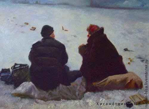 Бездомные, Картины, Санкт-Петербург,  Фото №1