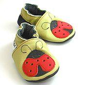 Работы для детей, handmade. Livemaster - original item Baby Shoes,Leather Baby Shoes,Ebooba,Baby Moccasins. Handmade.