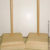 Материалы для творчества ручной работы. Ярмарка Мастеров - ручная работа Подставки для кукол деревянные. Handmade.