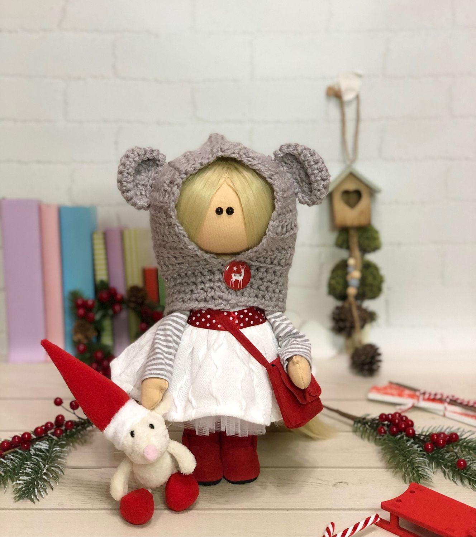 Интерьерная текстильная кукла, Тыквоголовка, Ханты-Мансийск,  Фото №1
