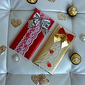 """Цветы и флористика ручной работы. Ярмарка Мастеров - ручная работа Шоколад к 8 марта """"Праздничный"""", букет из конфет, шоколадница. Handmade."""