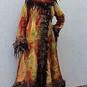"""Одежда ручной работы. Ярмарка Мастеров - ручная работа Пальто валяное """"Ближе к осени"""". Handmade."""
