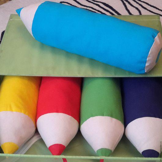"""Текстиль, ковры ручной работы. Ярмарка Мастеров - ручная работа. Купить Валики """"Карандаши"""". Handmade. Комбинированный, карандаши, хлопок"""