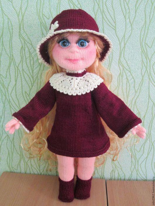 Человечки ручной работы. Ярмарка Мастеров - ручная работа. Купить Кукла Диана. Handmade. Комбинированный, вязание для детей