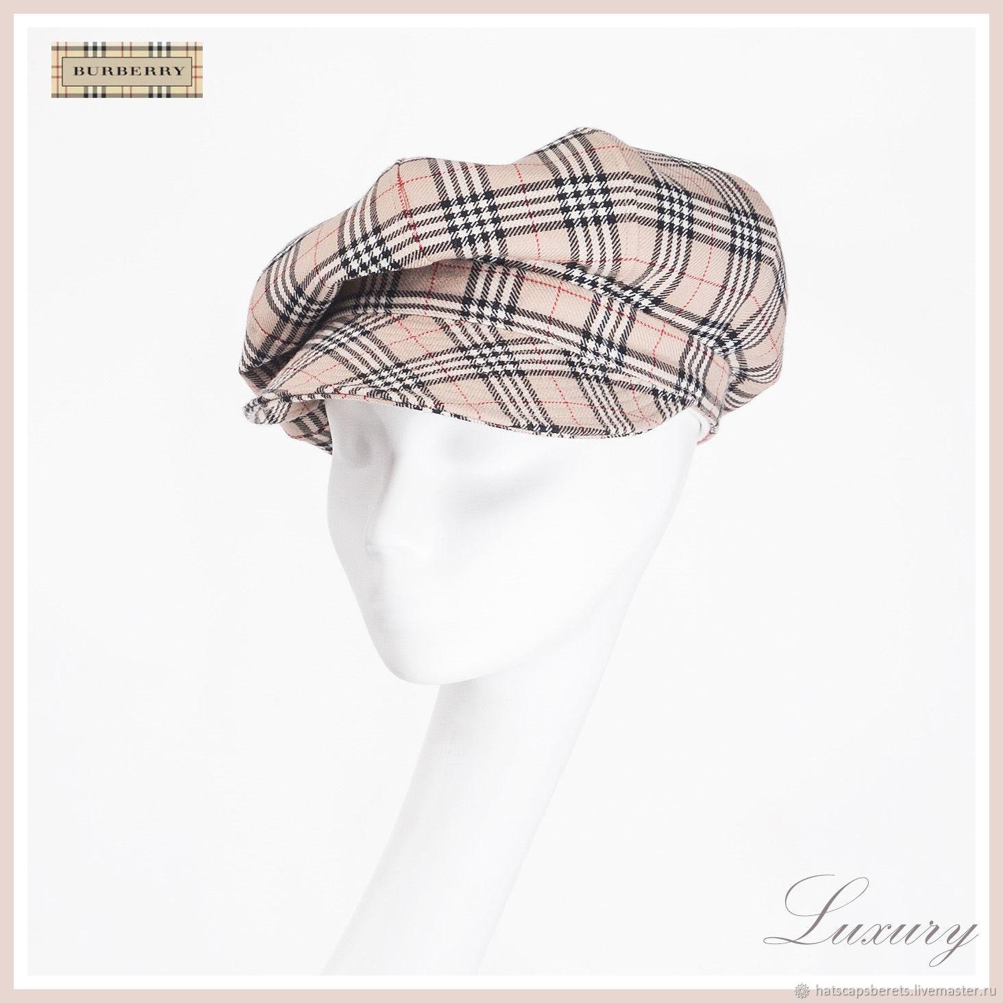 Women's cap'Bereberry' luxury category. Luxury caps, Caps1, Moscow,  Фото №1