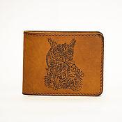 Сумки и аксессуары handmade. Livemaster - original item Wallet genuine leather. Eternal drawings. Handmade.