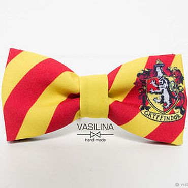 Accessories handmade. Livemaster - original item Tie Harry Potter Gryffindor. Handmade.