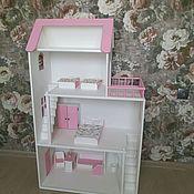 Кукольные домики ручной работы. Ярмарка Мастеров - ручная работа Кукольный Домик Сканди. Handmade.