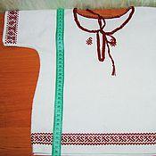 """Работы для детей, ручной работы. Ярмарка Мастеров - ручная работа Крестильная рубашка """"Гуси-лебеди"""". Handmade."""