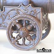Сувениры и подарки handmade. Livemaster - original item PUT IN - GUN with secret - wood carving - handmade. Handmade.