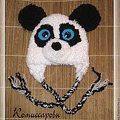 """Работы для детей, ручной работы. Ярмарка Мастеров - ручная работа шапка """"Панда Кроха"""". Handmade."""