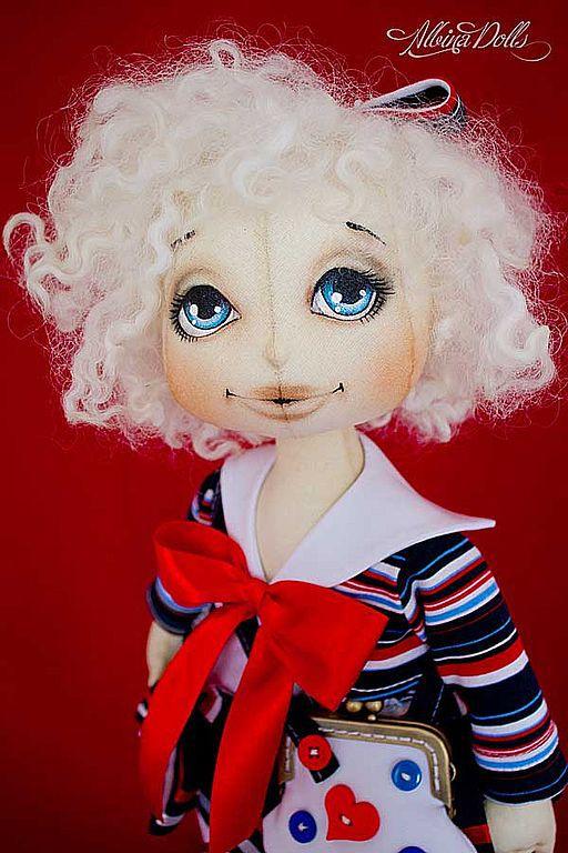 Textile doll Marinka, Stuffed Toys, Taganrog,  Фото №1