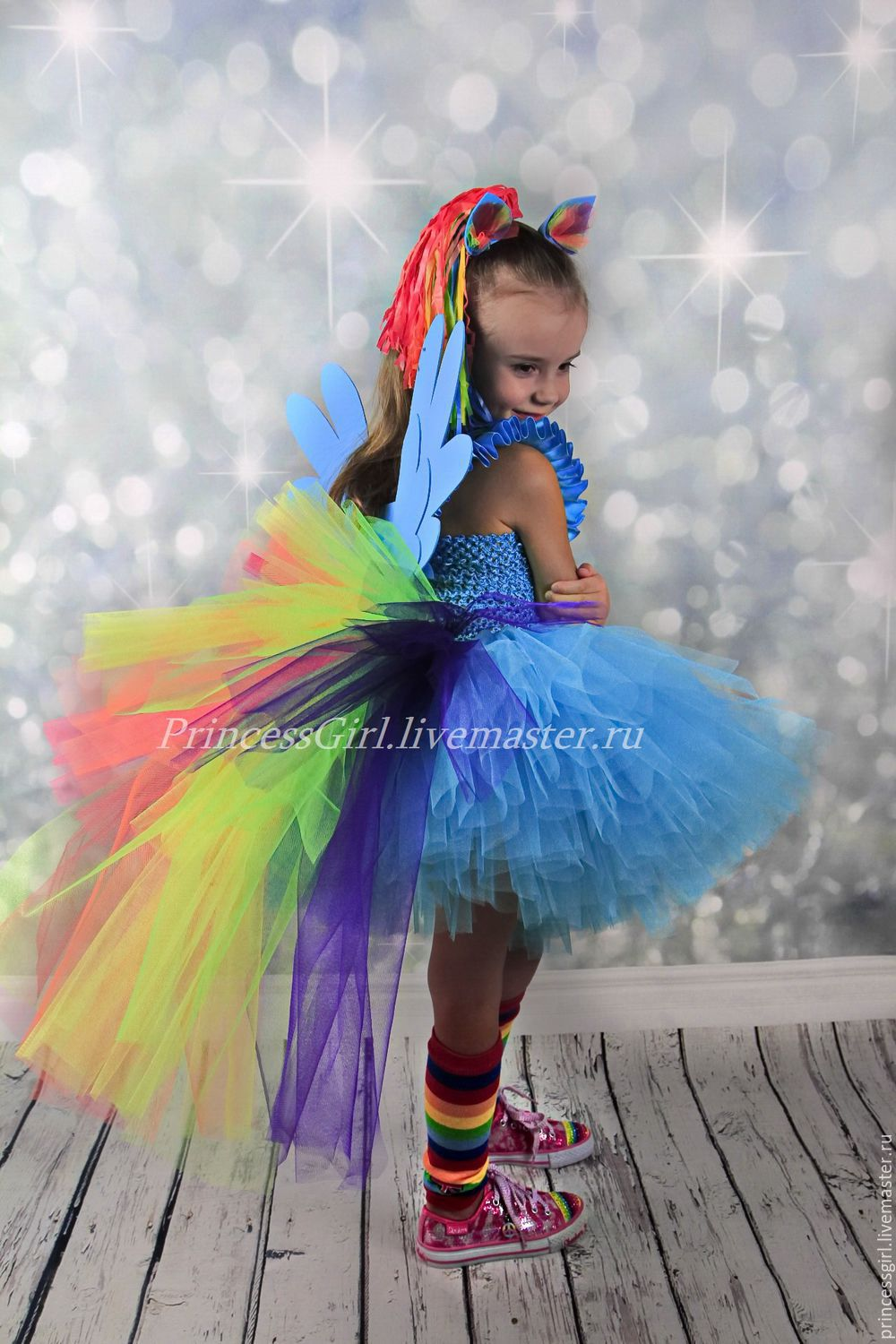 Costume, Rainbow dash My little pony, Carnival costumes for children, Moscow,  Фото №1