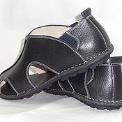 Обувь ручной работы. Ярмарка Мастеров - ручная работа мужские сандали. Handmade.