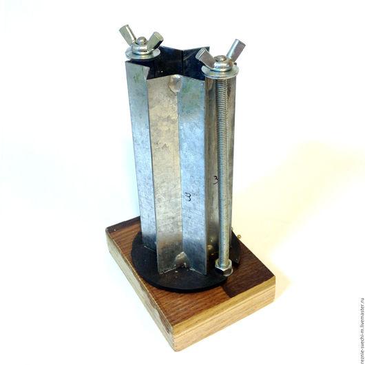 Другие виды рукоделия ручной работы. Ярмарка Мастеров - ручная работа. Купить Форма для отливки заготовок для резных свечей (12 см). Handmade.