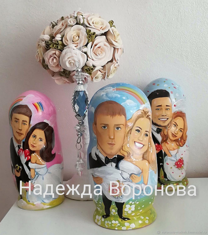 Матрешки по фото, Подарки, Москва,  Фото №1