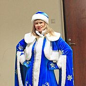 Одежда handmade. Livemaster - original item Snow Maiden. Animator-actor suit/Cosplay/Masquerade costume. Handmade.
