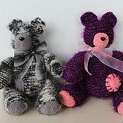 Куклы и игрушки handmade. Livemaster - original item Knitted bears. Handmade.