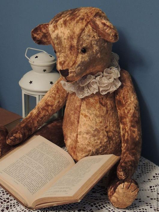 Мишки Тедди ручной работы. Ярмарка Мастеров - ручная работа. Купить Большой плюшевый мишутка (С ревуном). Handmade. Коричневый