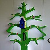 Для дома и интерьера ручной работы. Ярмарка Мастеров - ручная работа Зеленое дерево-стеллаж с подсветкой. Handmade.