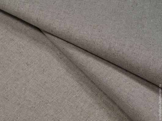 Шитье ручной работы. Ярмарка Мастеров - ручная работа. Купить Ткань постельная лен/хлопок. Handmade. Серый, лен, постельное белье