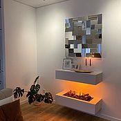 Для дома и интерьера handmade. Livemaster - original item Modular mirror panel. Handmade.