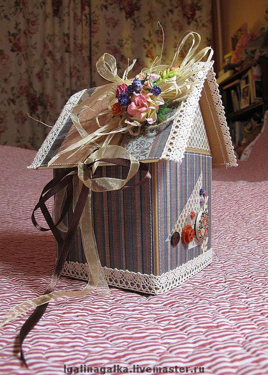 Копилки ручной работы. Ярмарка Мастеров - ручная работа. Купить Домик для сбережений: конфет,подарочков,секретиков. Handmade. Домик
