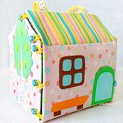 Куклы и игрушки handmade. Livemaster - original item Dollhouse-handbag for girls. Handmade.