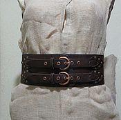 Аксессуары ручной работы. Ярмарка Мастеров - ручная работа кожаный пояс с кельтской гравировкой. Handmade.