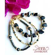 Украшения handmade. Livemaster - original item Black Tourmaline Bracelet. Handmade.