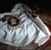 Винтаж ручной работы. Ярмарка Мастеров - ручная работа Винтажное белое платьице. Handmade.