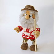 Куклы и игрушки handmade. Livemaster - original item Knitted interior doll House Flor Fomich. Handmade.