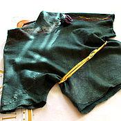 Одежда ручной работы. Ярмарка Мастеров - ручная работа Блузка валяная  Лесная нимфа. Handmade.