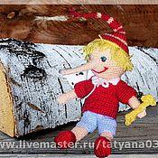 Куклы и игрушки ручной работы. Ярмарка Мастеров - ручная работа БУРАТИНО вязаный. Handmade.
