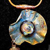 Украшения handmade. Livemaster - original item Pendant Mask of time. Handmade.