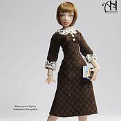 Куклы и игрушки handmade. Livemaster - original item Olga (12.5 cm). Handmade.