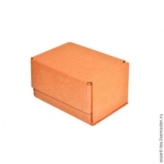 Упаковка ручной работы. Ярмарка Мастеров - ручная работа. Купить Самосборная почтовая коробка 170х120х100. Handmade. Бежевый, почтовая коробка