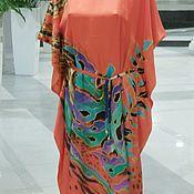 Одежда handmade. Livemaster - original item Túnica batik de las zonas subtropicales