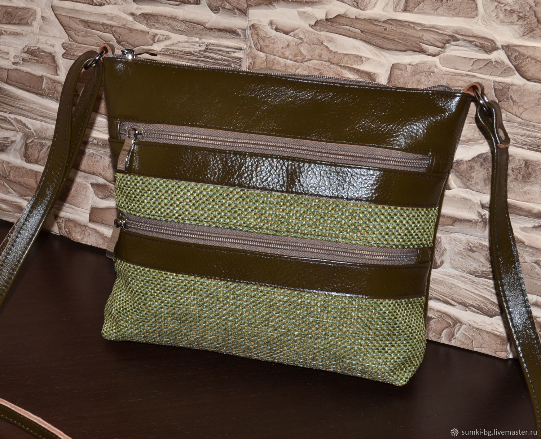 Handbags handmade. Livemaster - handmade. Buy A small bag made of genuine leather Model 605.Bag