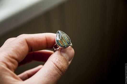 Кольца ручной работы. Ярмарка Мастеров - ручная работа. Купить Серебряное кольцо про космос. Handmade. Комбинированный, кольцо из серебра
