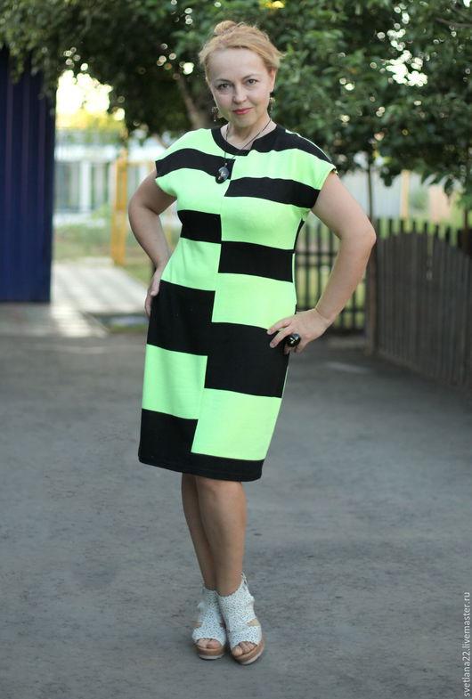 """Платья ручной работы. Ярмарка Мастеров - ручная работа. Купить Летнее платье """"Яркое"""". Handmade. Комбинированный, нарядное платье"""