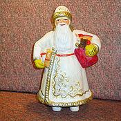 Винтаж ручной работы. Ярмарка Мастеров - ручная работа Дед Мороз  композитный (опилочный). Handmade.