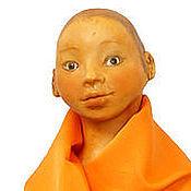 Куклы и игрушки ручной работы. Ярмарка Мастеров - ручная работа Кукла Юноша Буддист. Handmade.