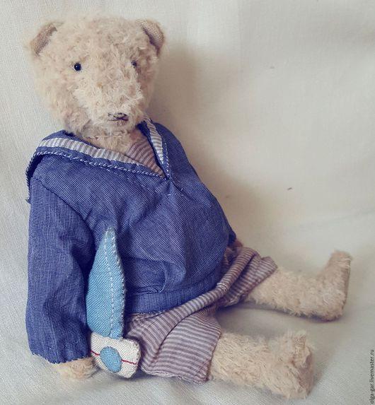 Мишки Тедди ручной работы. Ярмарка Мастеров - ручная работа. Купить Маленький морской волчонок. Handmade. Бежевый, медведь