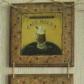 """Картины и панно ручной работы. Ярмарка Мастеров - ручная работа Панно для кухни """"Кофемания"""". Handmade."""