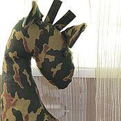 Для дома и интерьера ручной работы. Ярмарка Мастеров - ручная работа Игрушки-подушки Жираф и Мышь. Handmade.