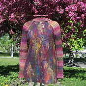 Одежда handmade. Livemaster - original item Valano sweater-knit Riot of colors. Handmade.