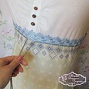 Одежда ручной работы. Ярмарка Мастеров - ручная работа бохо хлопковое платье в пол Юлита. Handmade.